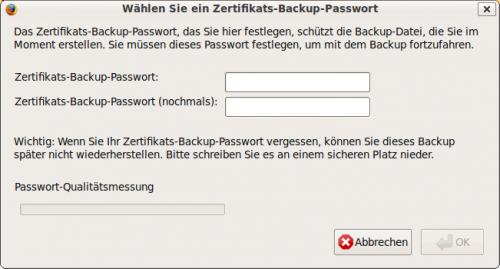 Benutzer-Zertifikate mit Mozilla-Applikationen [RZ-Dokumentationen]